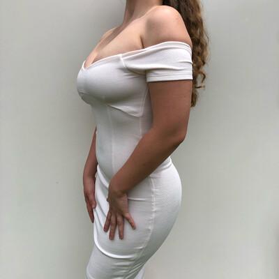 Mura Off-The-Shoulder Dress