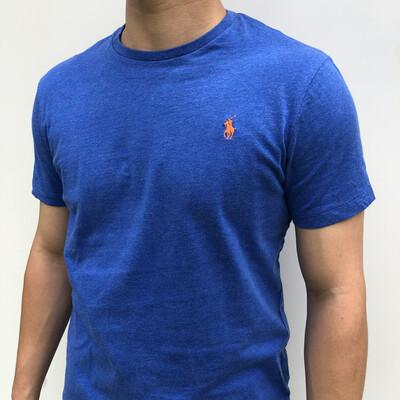 RALPH LAUREN Blue T-Shirt: SIZE M