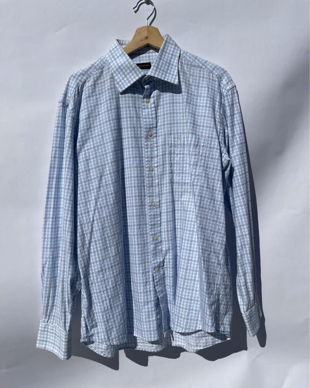 Valentino Checkered Dress Shirt