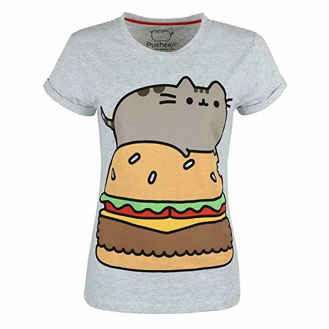Pusheen Burger T-Shirt