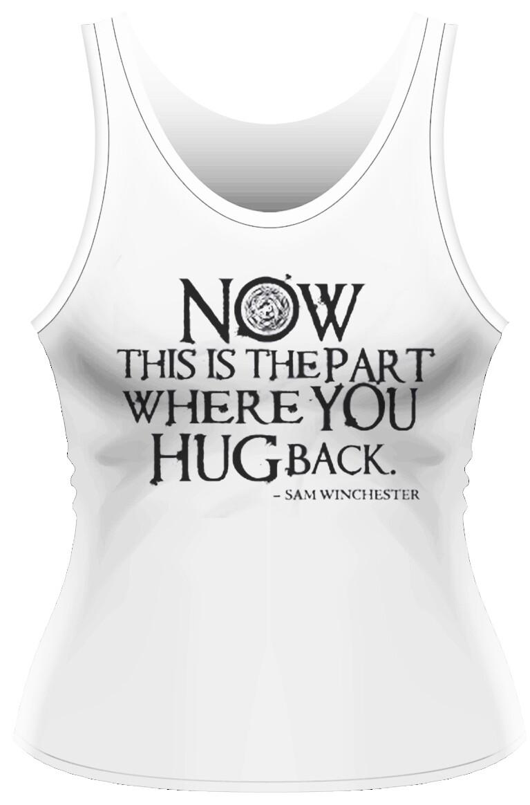 Female Supernatural 'Hug Back' Vest/Tank