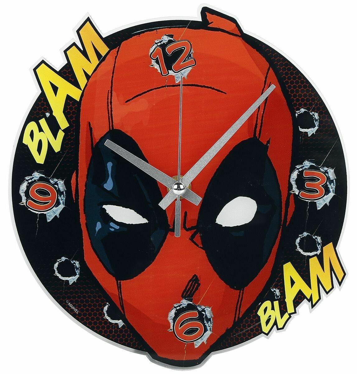 Deadpool Kids Wall Clock