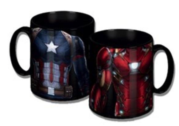 Marvel Civil War Torso Mug