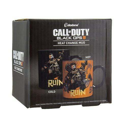 Call of Duty Black Ops 4 Heat Change Mug