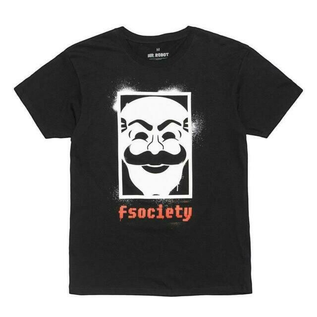Mr Robot 'fsociety' T-Shirt - Size 4XL only