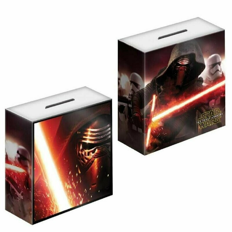 Box of 36 Star Wars Ceramic Money Boxes - Kylo Ren