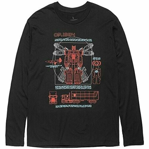 Transformers 1984 Long Sleeve Print T-Shirt