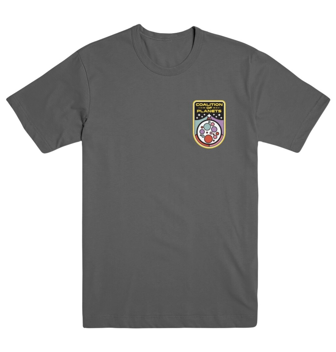 Coalition of Planets Crest T-Shirt