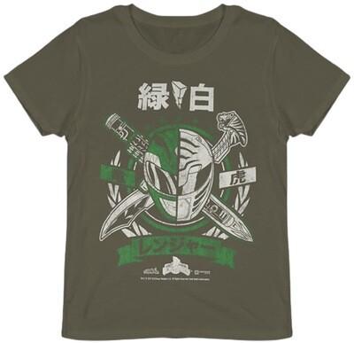 Power Rangers Helmet T-Shirt