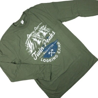 Twin Peaks Long Sleeved 'Logging Camp' T-Shirt