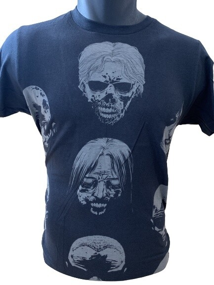 TWD Walker Skulls T-Shirt