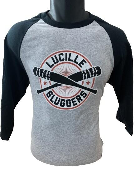 TWD Lucille Slugger Long Sleeved Raglan Top