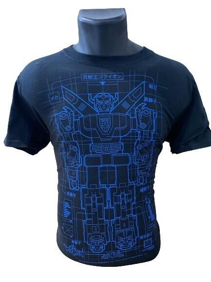 Power Rangers Voltron Print T-Shirt