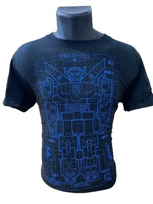 Power Rangers Voltron Print T-Shirt