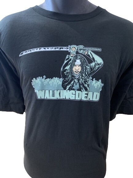 TWD Michonne with Sword T-Shirt