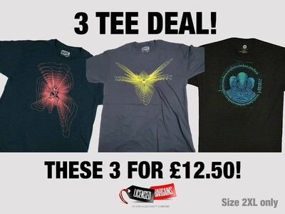 The 3 Tee Deal - Size 2XL only Ant/Wasp/Westworld
