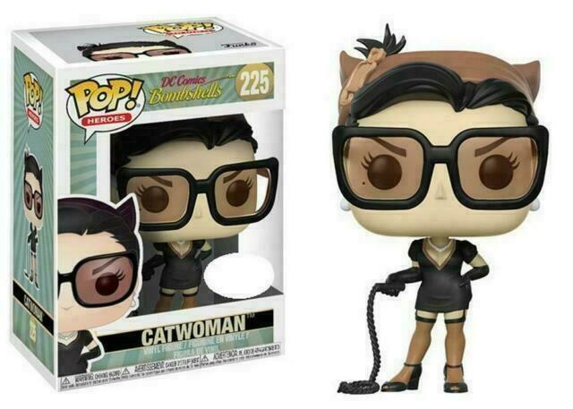 Funko POP! 'DC Bombshells' Catwoman No: 225