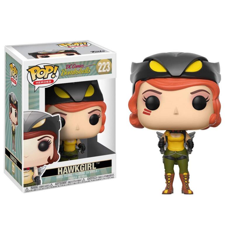Funko POP! 'DC Bombshells' Hawkgirl No: 223