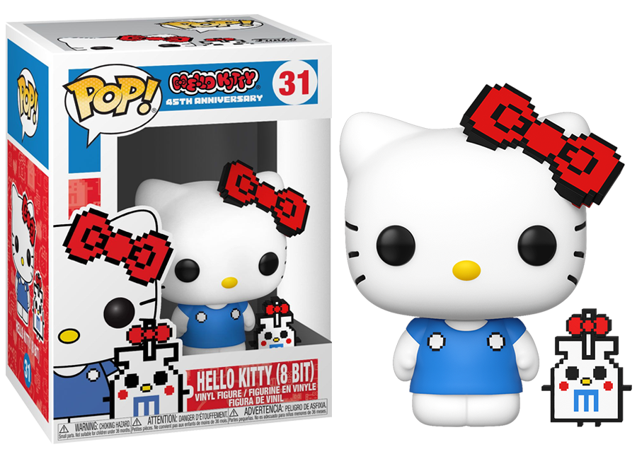 Funko POP! Hello Kitty '8 Bit'. Pop! No: 31