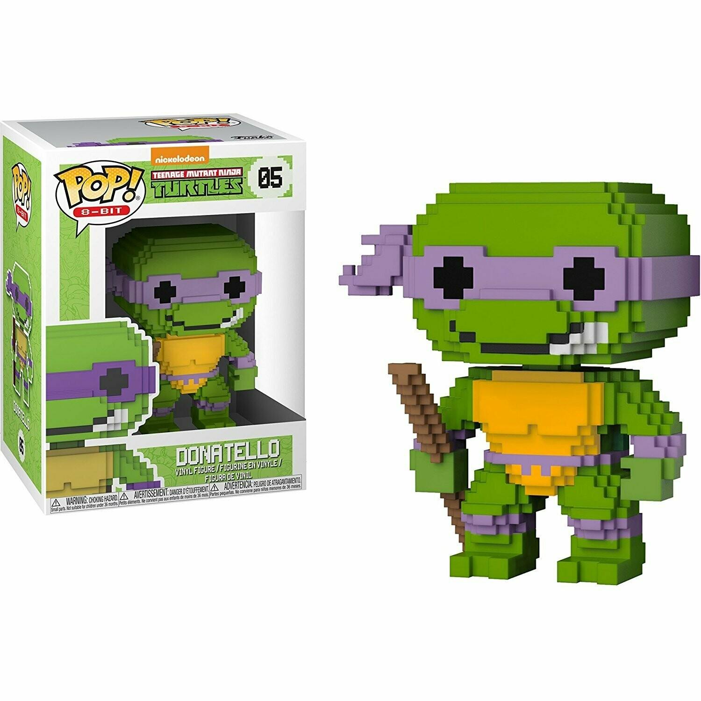 Funko POP! TMNT Donatello 8 Bit Pop! No: 05