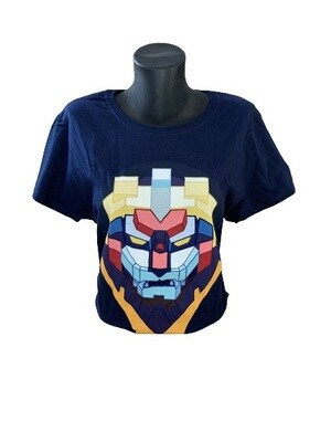 Ladies' Power Ranger 'Voltron Face 'T-Shirt