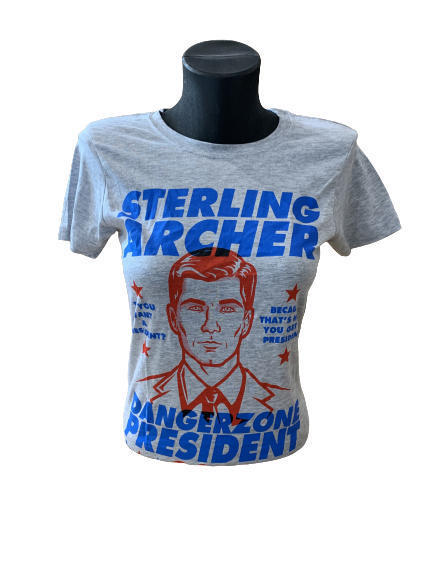Ladies' Sterling Archer for President T-Shirt