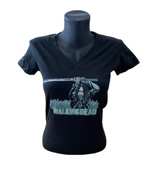 Ladies' TWD Michonne with Sword T-Shirt