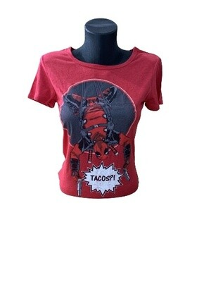 Ladies' Marvel Deadpool 'Tacos' T-Shirt