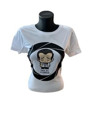 Ladies' James Bond 'This Is Stirred' T-Shirt