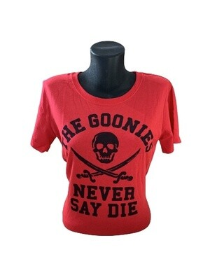 Ladies' The Goonies 'Never Say Die' T-Shirt