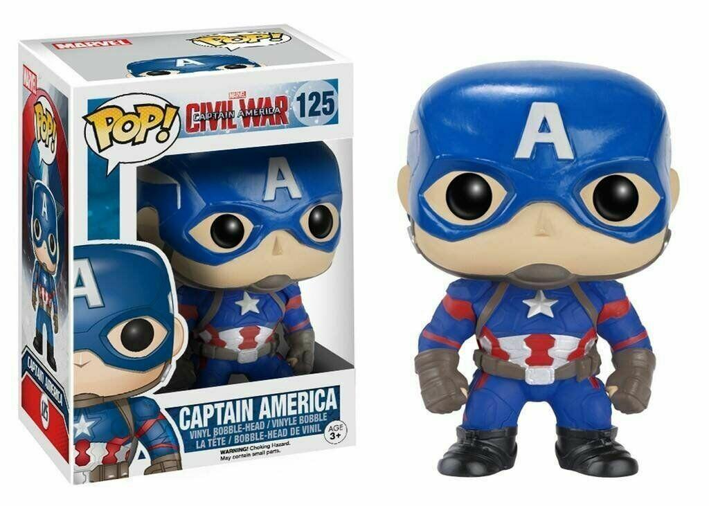 Funko POP! Star Wars Captain America - Pop No: 125