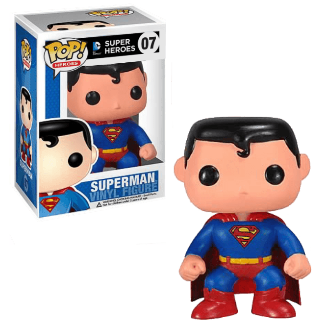 Funko POP! DC Universe Superman - Pop No: 07