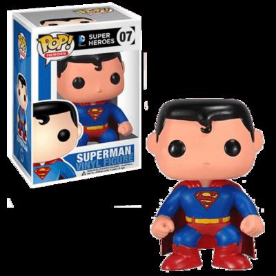 Funko POP! DC Universe Superman - Pop No: 07