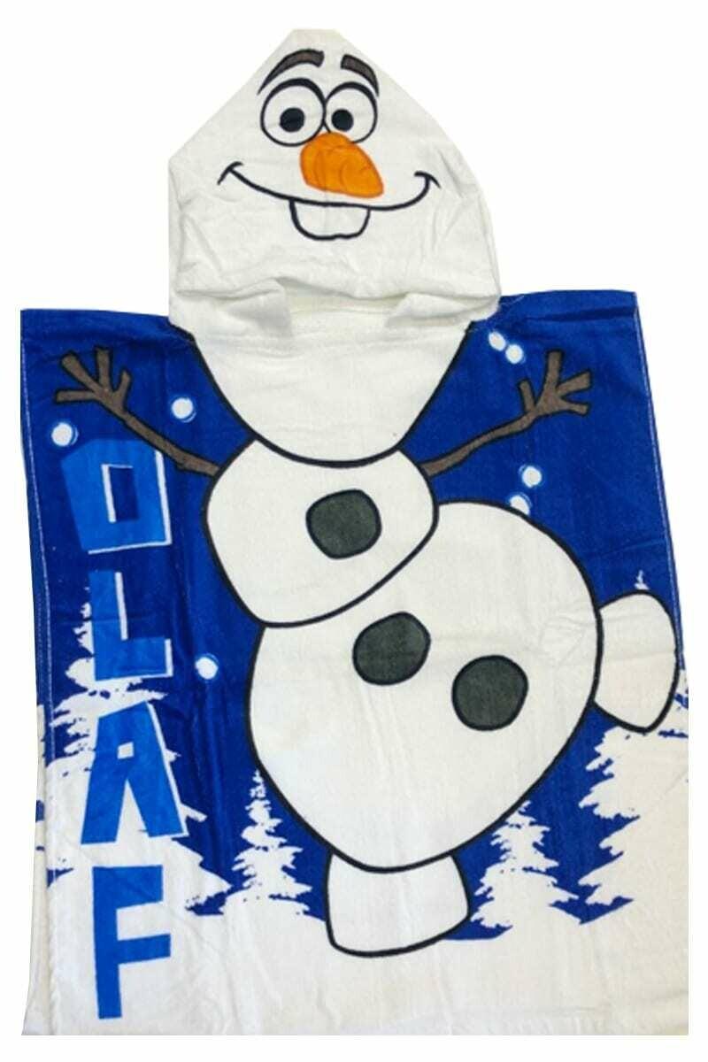 Disney Frozen Olaf Towel Poncho