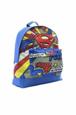 Superman Logo Kids' Back Pack