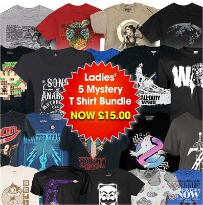 Ladies' 5 Mystery T Shirt Bundle