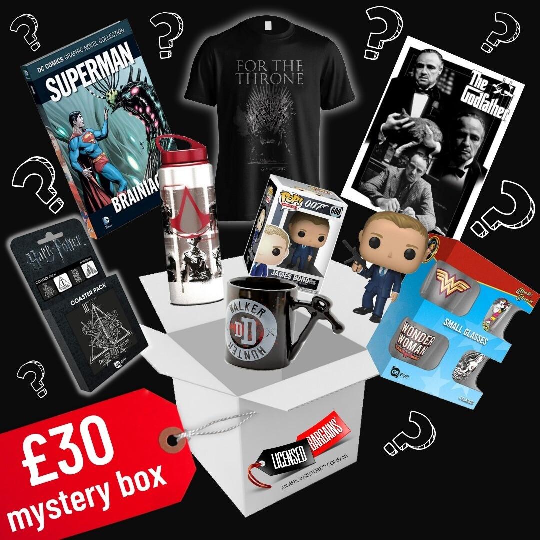 The £30 Mystery Box (September '21 Box) OPTION 1