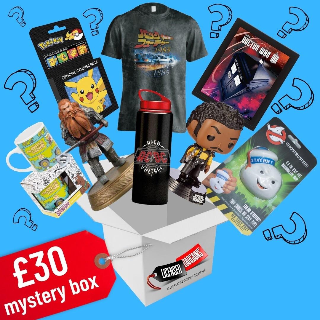 The £30 Mystery Box (September '21 Box) OPTION 2