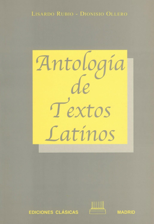 ANTOLOGIA DE TEXTOS LATINOS