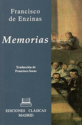 MEMORIAS. FRANCISCO DE ENZINAS