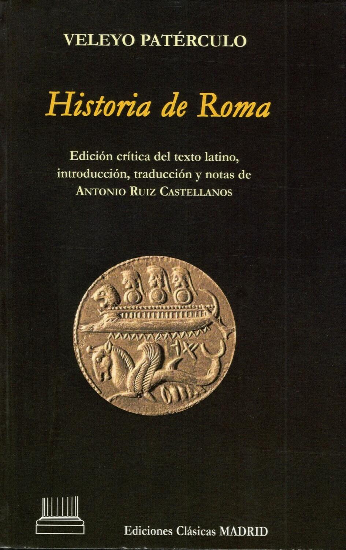 HISTORIA DE ROMA, VELEYO PATERCULO