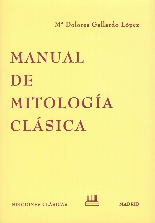 MANUAL DE MITOLOGÍA CLÁSICA