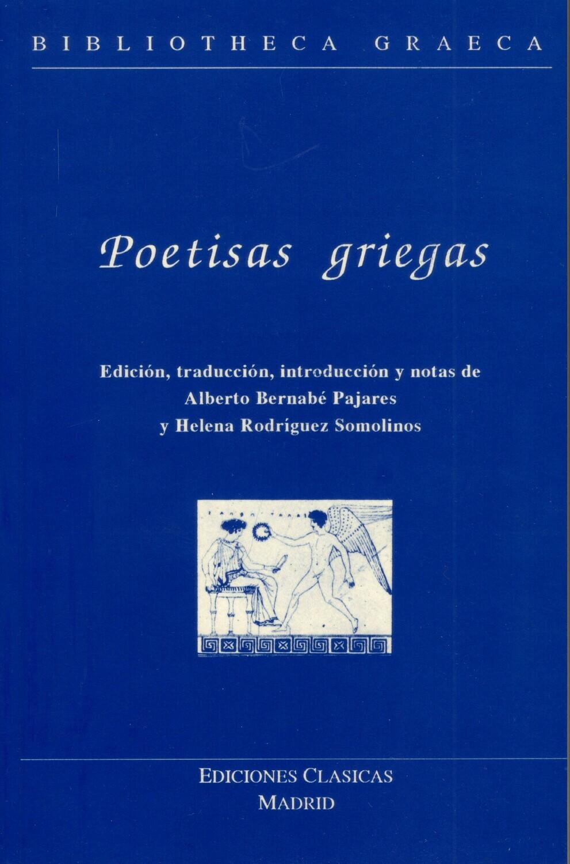 POETISAS GRIEGAS