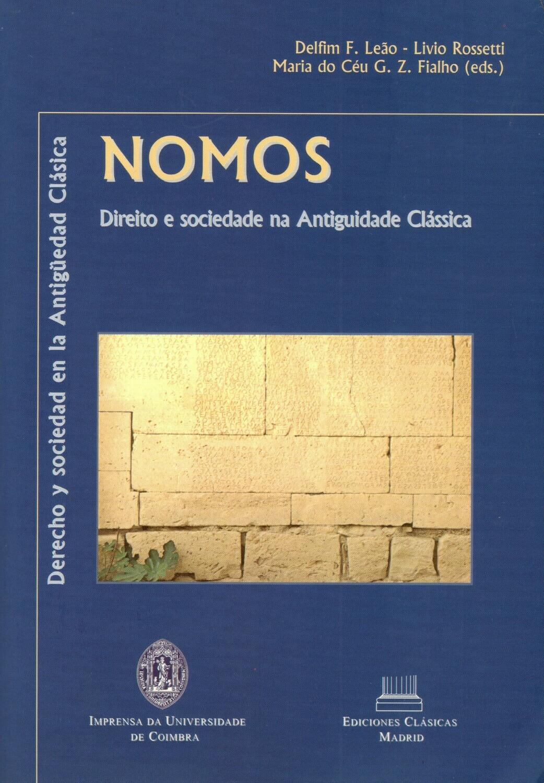 NOMOS. DERECHO Y SOCIEDAD EN LA ANTIGÜEDAD CLÁSICA