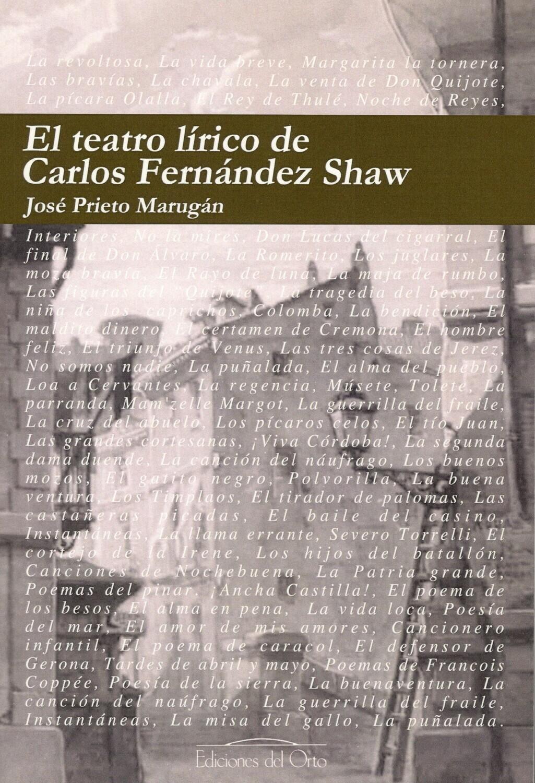 EL TEATRO LIRICO DE CARLOS FERNANDEZ SHAW