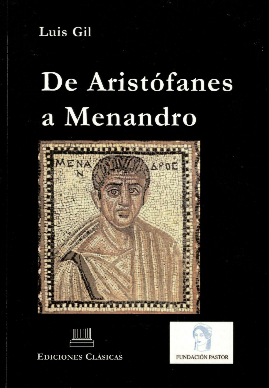 DE ARISTÓFANES A MENANDRO