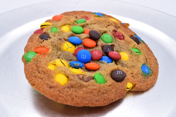 M and M's Cookie