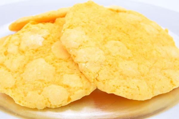 Lemon Crinkle Cookie