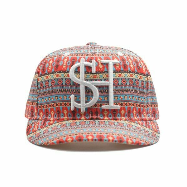 Pearl City mini brim All Over Pattern Artwork