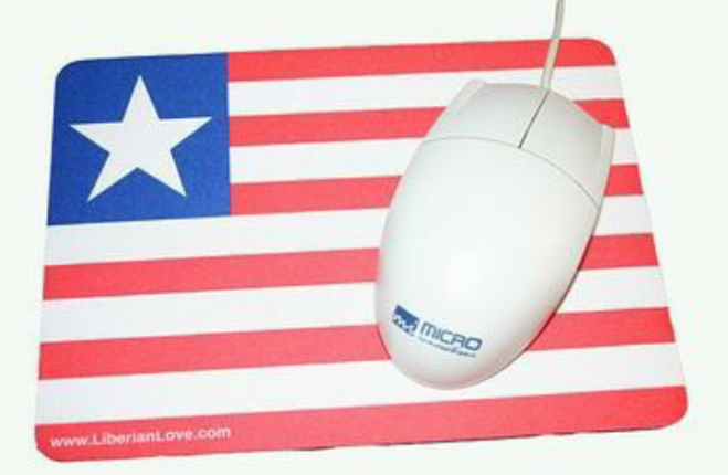 Liberian Flag Mousepads